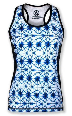 Women's SHIBORI STAR- タンクトップ