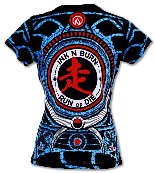 Women's Run or Die Warrior Tech Shirt