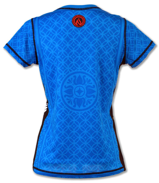 Women's Queen of Clubs Tech Shirt