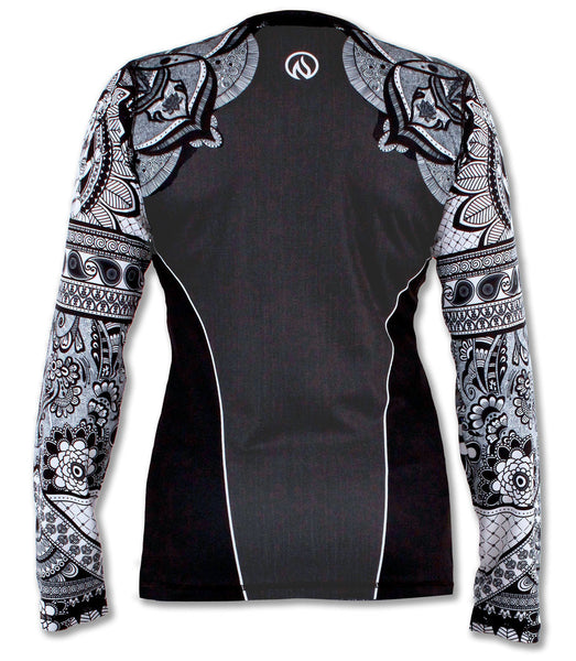 Women's Healing Mandala Long Sleeve Tech Shirt