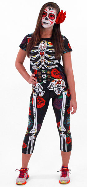Women's Calavera Tech Shirt