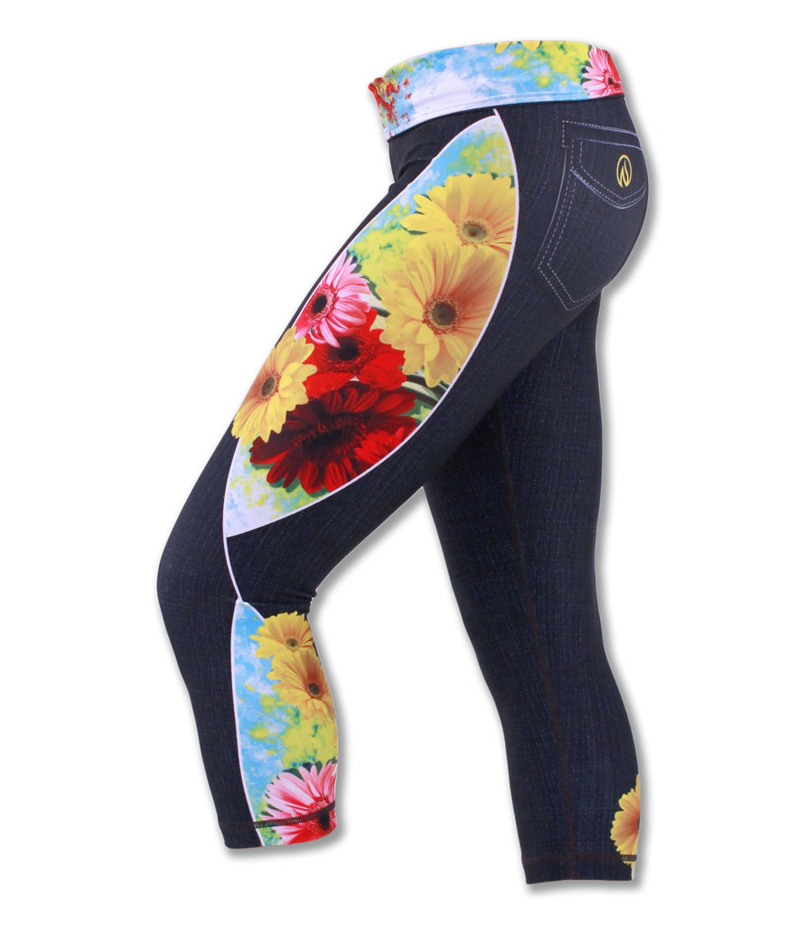 Women's Wildflower Capris