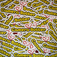 Camera Butter Sticker
