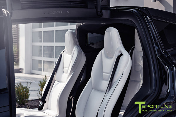 Project T-Rex - 2016 Tesla Model X P90D Ludicrous - White Interior 5
