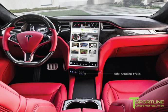 Tesla Model S/X/3 Ticket Avoidance System - Custom Services by T Sportline