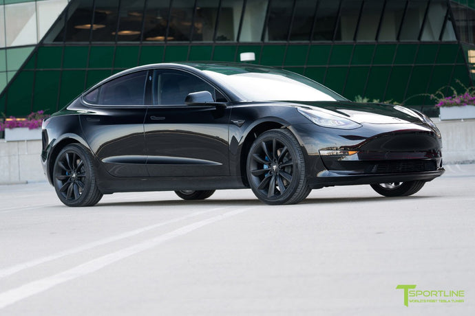 The First Customized Tesla Model 3