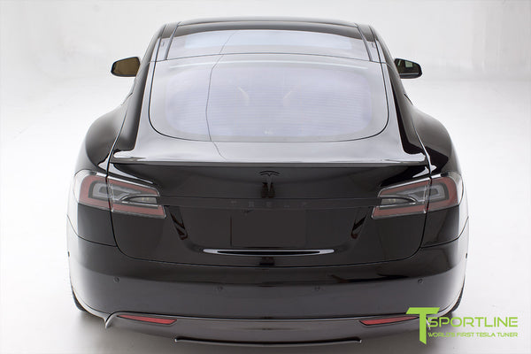 Project TS1 - Tesla Model S 85 - Custom Ferrari Creme Interior - Piano Black - Dashboard - Upholstered Steering Wheel - Elon Musk Signed 6