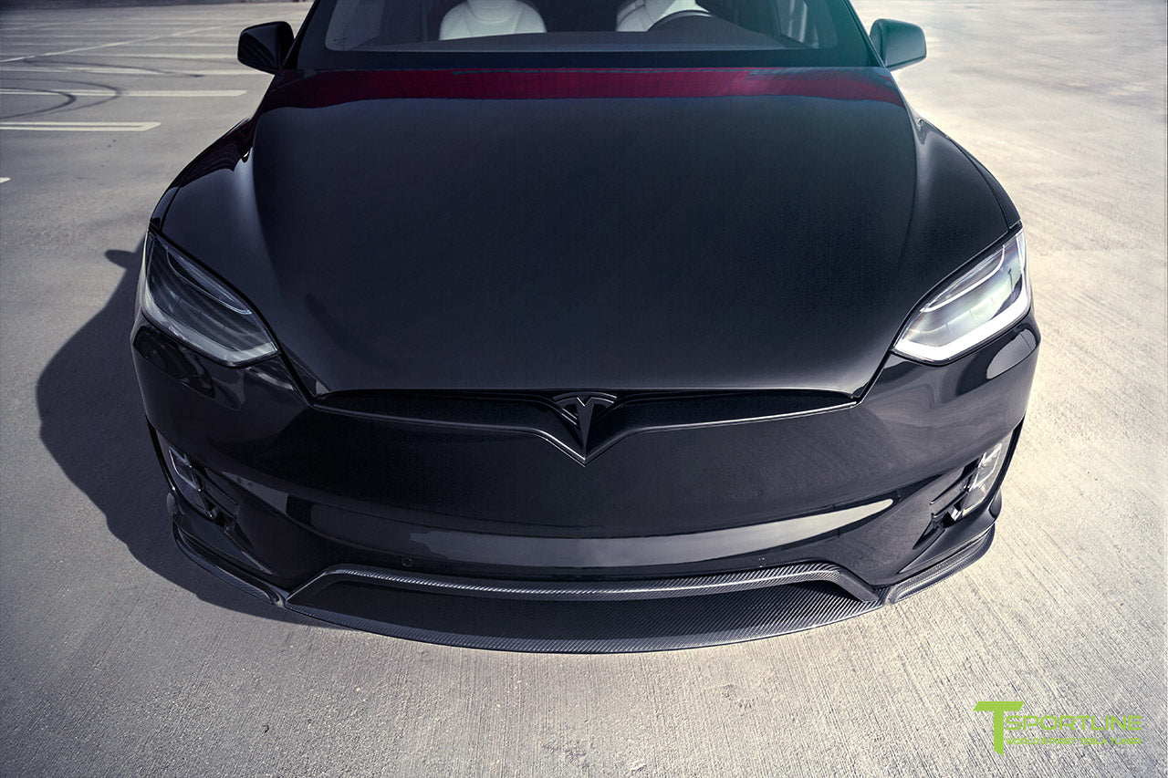 T Largo Limited Edition Tesla Model X Carbon Fiber Wide Body Kit with Matte Black TS120 22 inch Tesla Forged Wheels by T Sportline 6