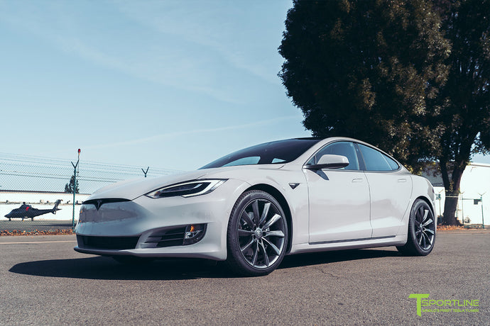 Tesla Model S Complete Vehicle Wrap - Custom Services by T Sportline