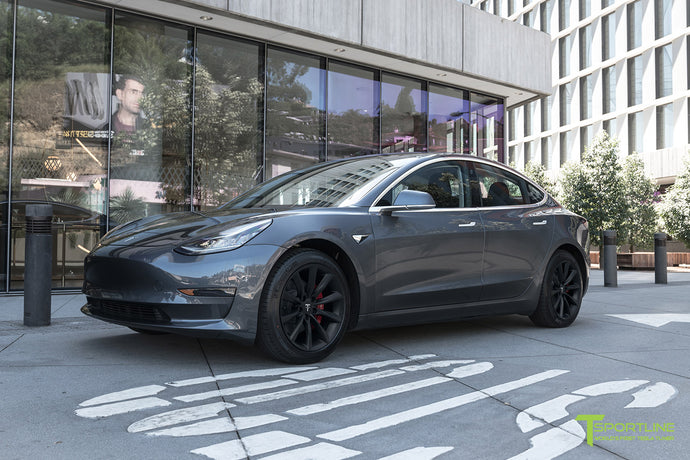 "Model 3 with 18"" TST"