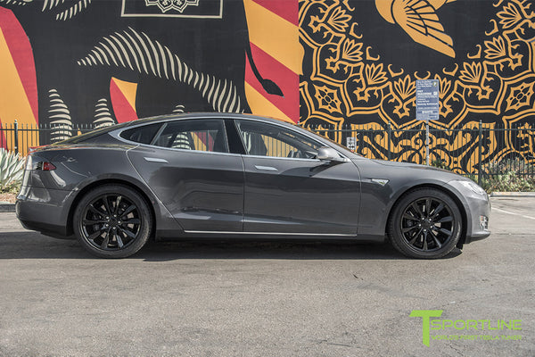 Midnight Silver Metallic Model S 1.0 with 19