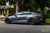 "Midnight Silver Metallic Tesla Model S with 19"" TSS Flow Forged Wheels in Matte Black by T Sportline"