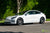 "Pearl White Tesla Model 3 with 20"" Falcon Flow Forged Tesla Aftermarket Wheels in Moonrock Gray by T Sportline"