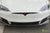Pearl White Tesla Model S P100D with Matte Black TS115 Forged Wheels, Digital License Plate, and Carbon Fiber Sport Package (Front Apron, Trunk Wing, Rear Diffuser) by T Sportline