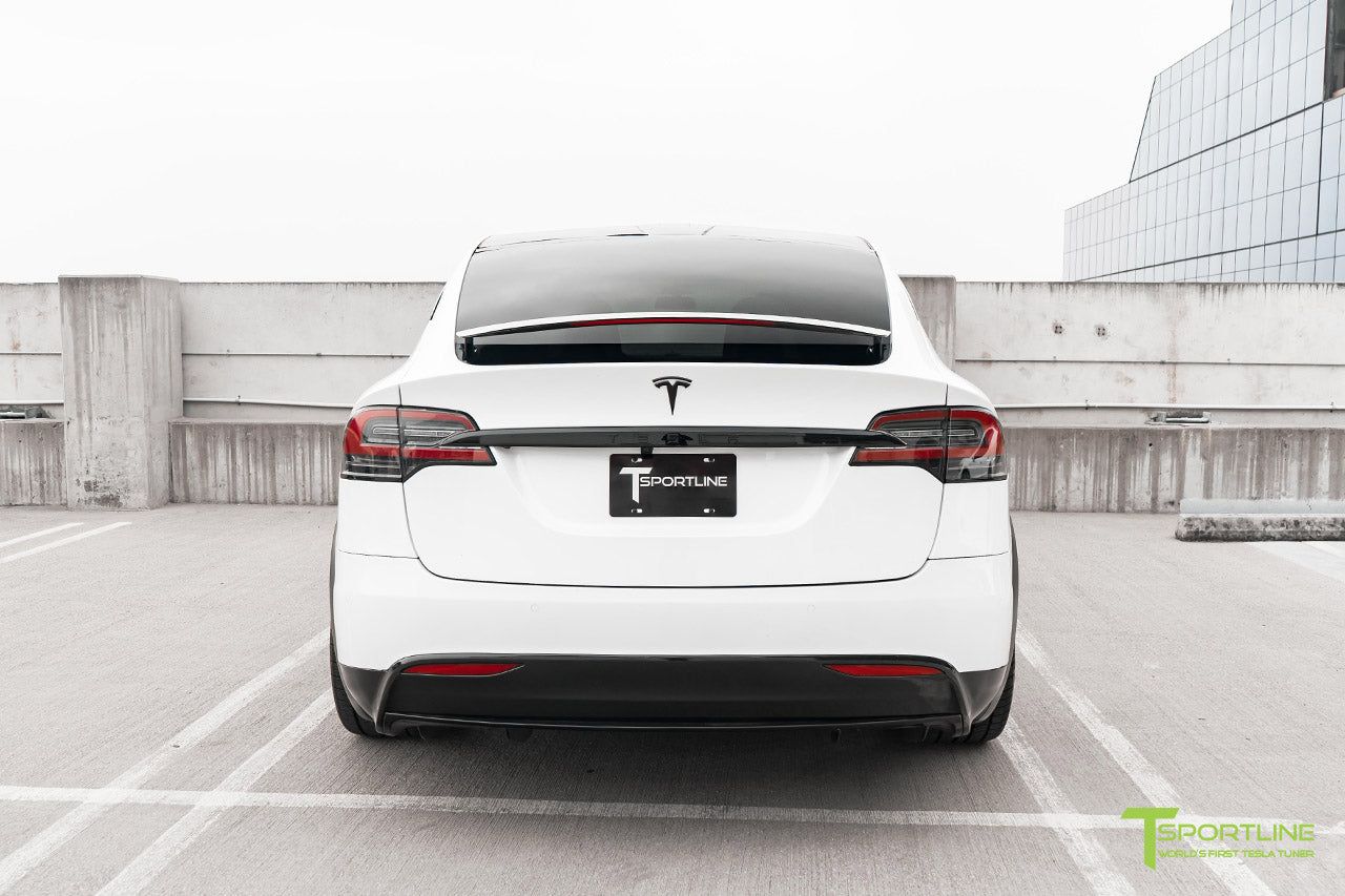 Project White X2 - 2016 Tesla Model X P90D Ludicrous with Ultra White Interior, 22 inch MX5 Forged Wheels Gloss Black, and Matte Carbon Fiber Steering Wheel by T Sportline 10