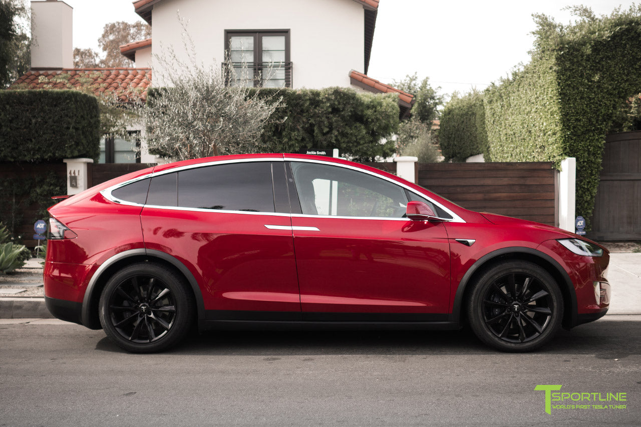 20 Tst Tesla Wheel Set Of 4 Model X Tsportline Com Tesla