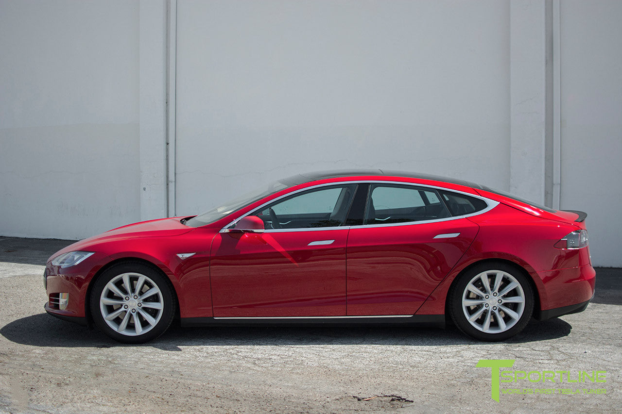 Red Multi-Coat Model S 1.0 with 19
