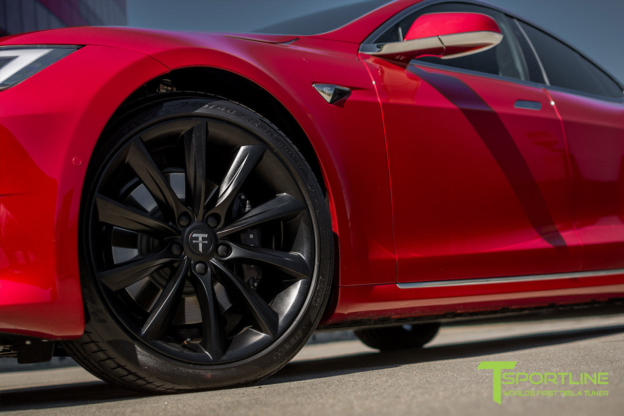 Red Multi-Coat Model S 2.0 with 20