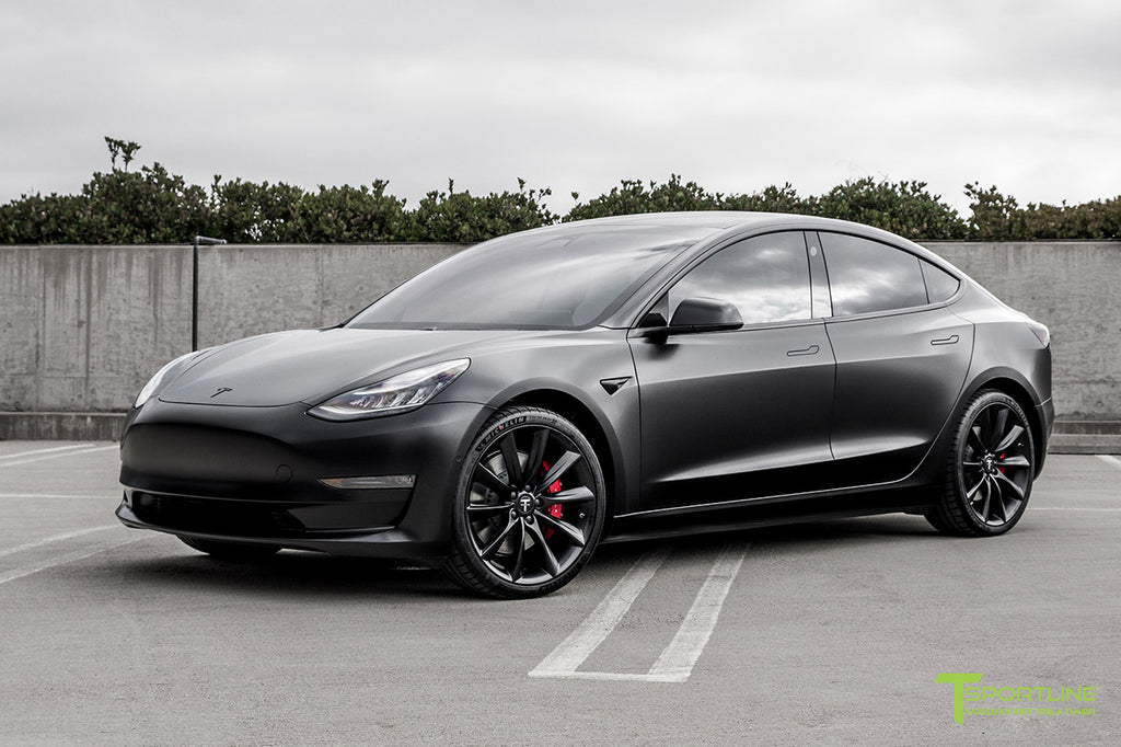 Tesla Model 3 Complete Vehicle Wrap Custom Services By T