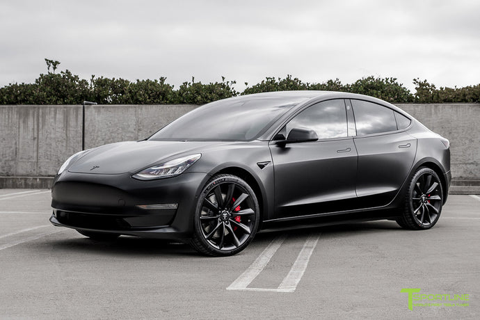 Tesla Model 3 Complete Vehicle Wrap - Custom Services by T Sportline