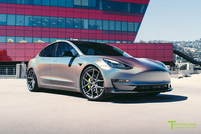 "Satin Psychedelic Flip Model 3 with 20"" Falcon Limited Edition Wheels"