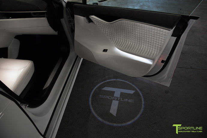 Tesla Model S/X Custom Ghost Light - Custom Services by T Sportline