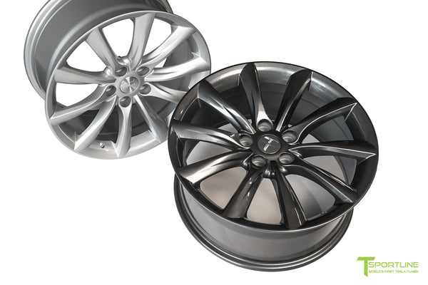 Tesla Model 3 18 inch Turbine Style TST Flow Forged Wheel by T Sportline 7