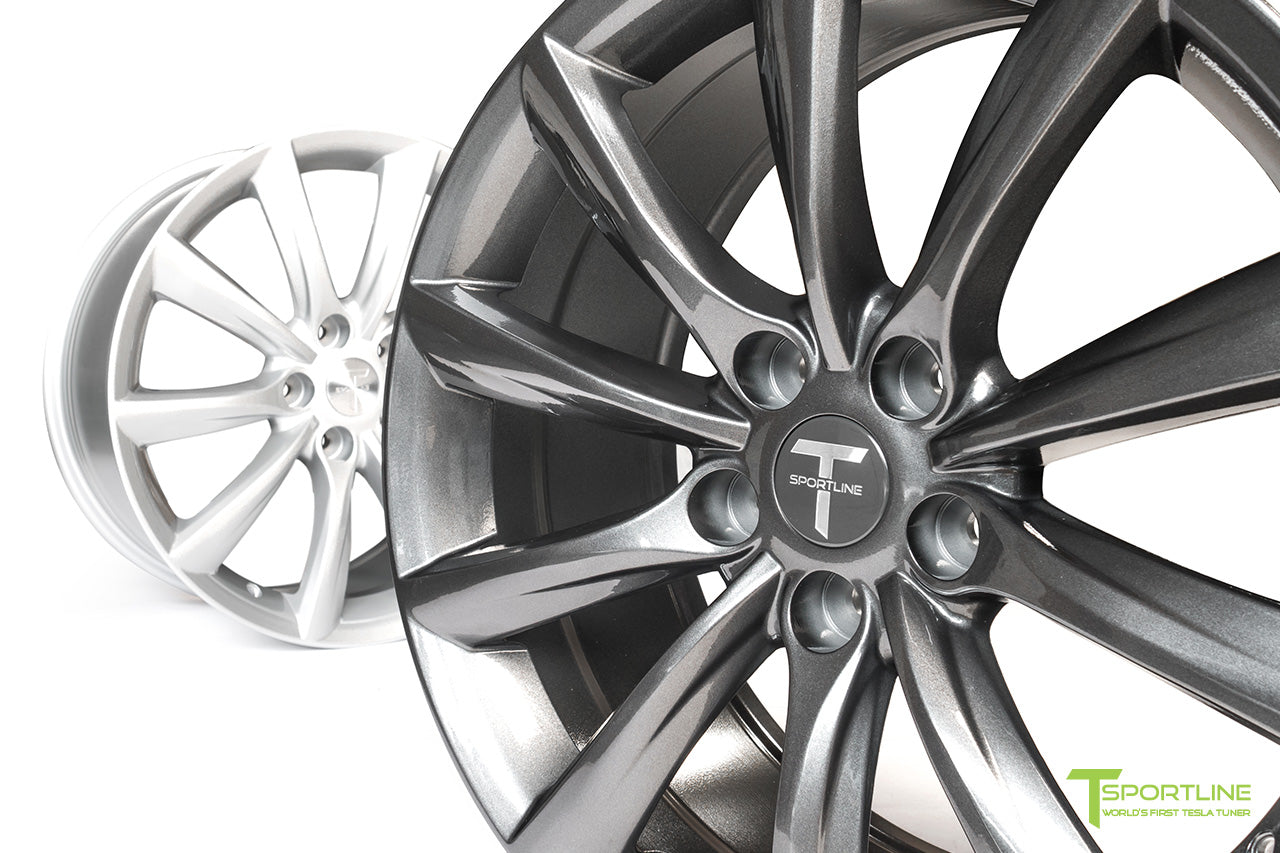 Tesla Model 3 18 inch Turbine Style TST Flow Forged Wheel by T Sportline 6