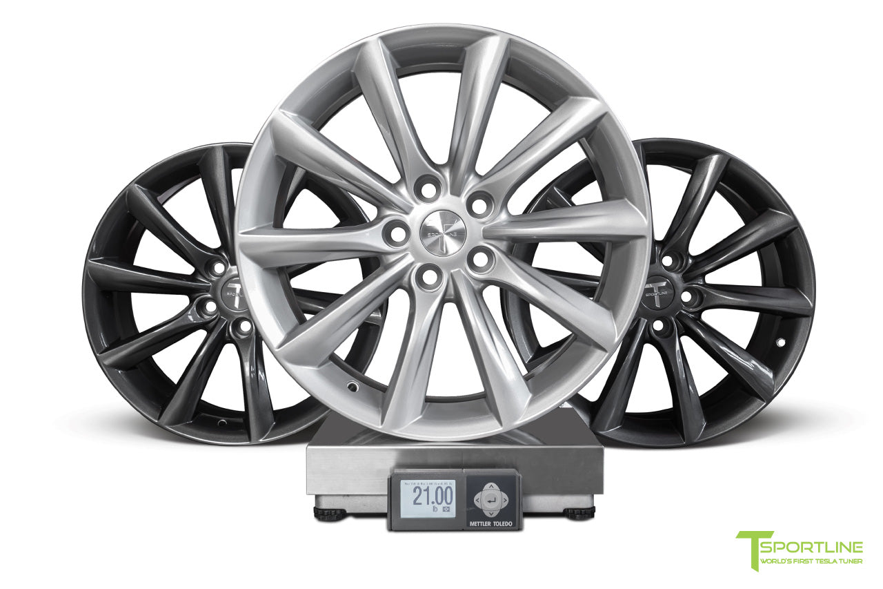 Tesla Model 3 18 inch Turbine Style TST Flow Forged Wheel by T Sportline 5
