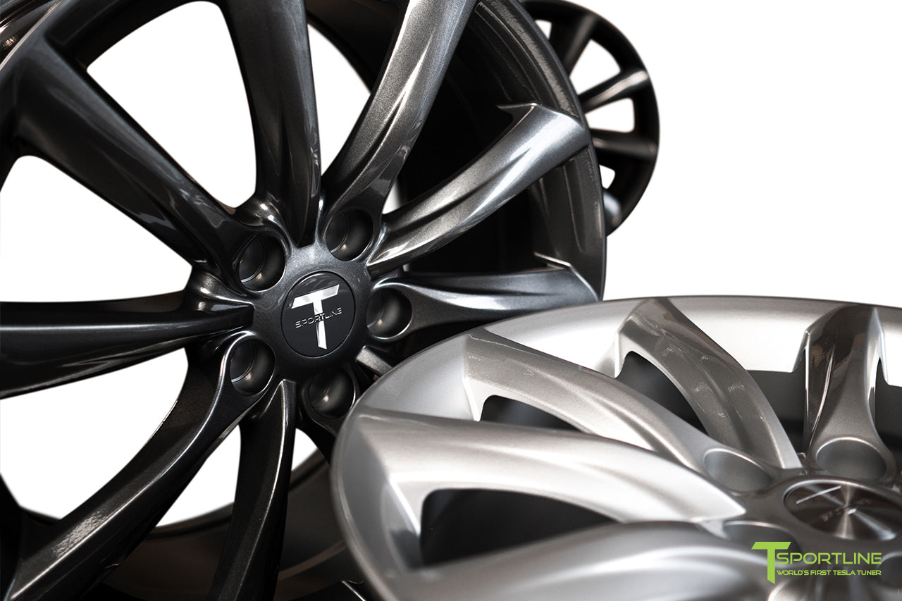 Tesla Model 3 18 inch Turbine Style TST Flow Forged Wheel by T Sportline 2
