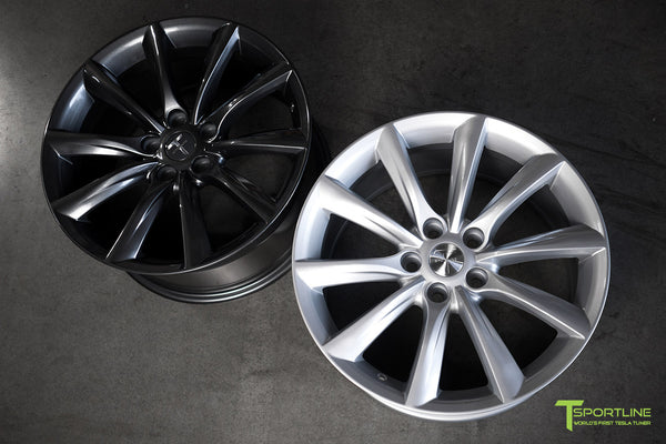 Tesla Model 3 18 inch Turbine Style TST Flow Forged Wheel by T Sportline 1