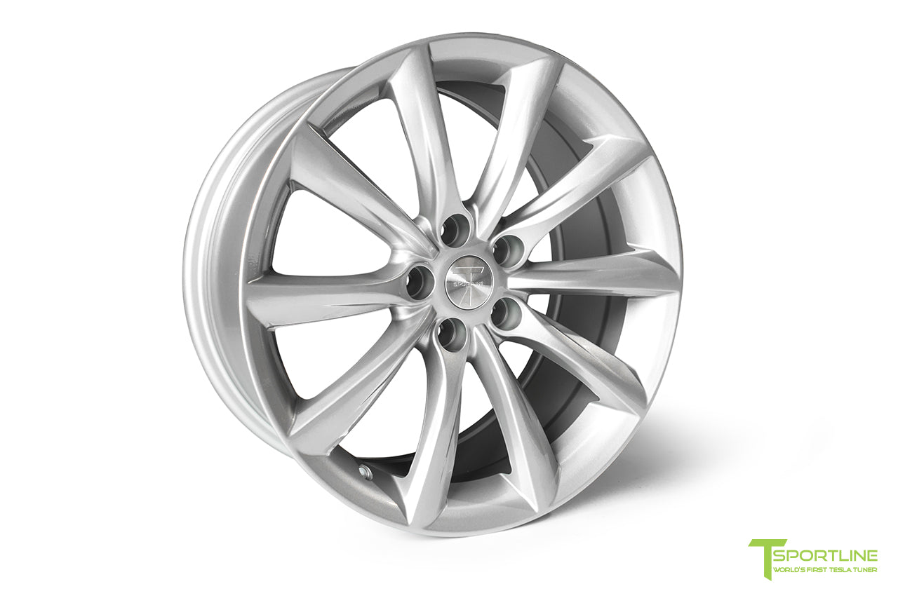 Tesla Model 3 18 inch Turbine Style TST Flow Forged Wheel by T Sportline 9