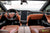 Project Muthayga - Bentley Market Tan Leather, Ferrari Red, Ferrari Black Interior, Gloss Carbon Fiber Steering Wheel, Seatbacks, Interior Trim, and Center Console by T Sportline