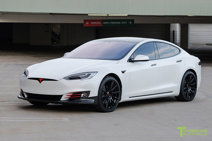 A Fully Customized Tesla Model S P100D - Storm Trooper