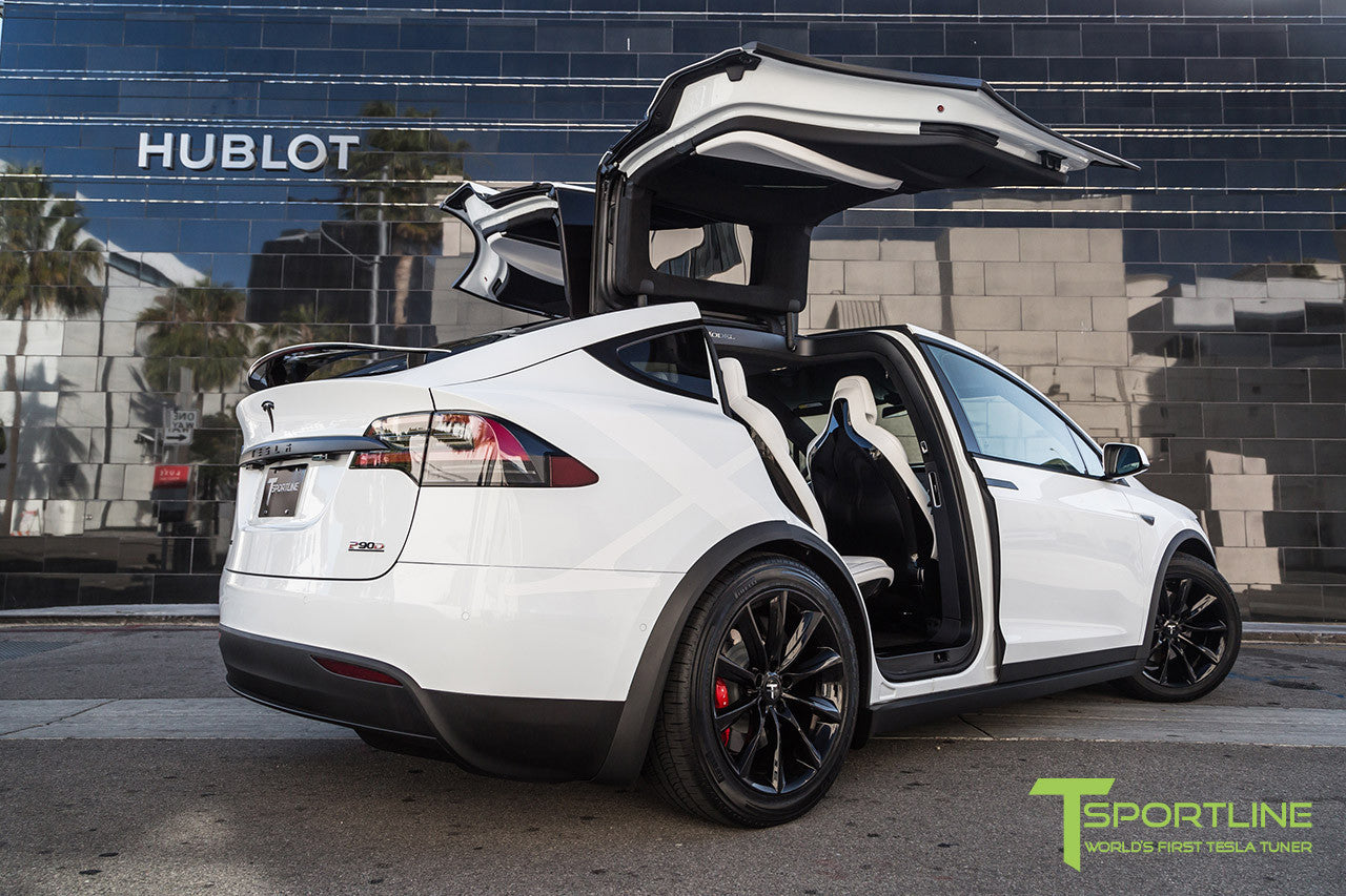Model X With 20 Tst Tagged Color Gloss Black T Sportline Tesla Model S 3 X Y Accessories
