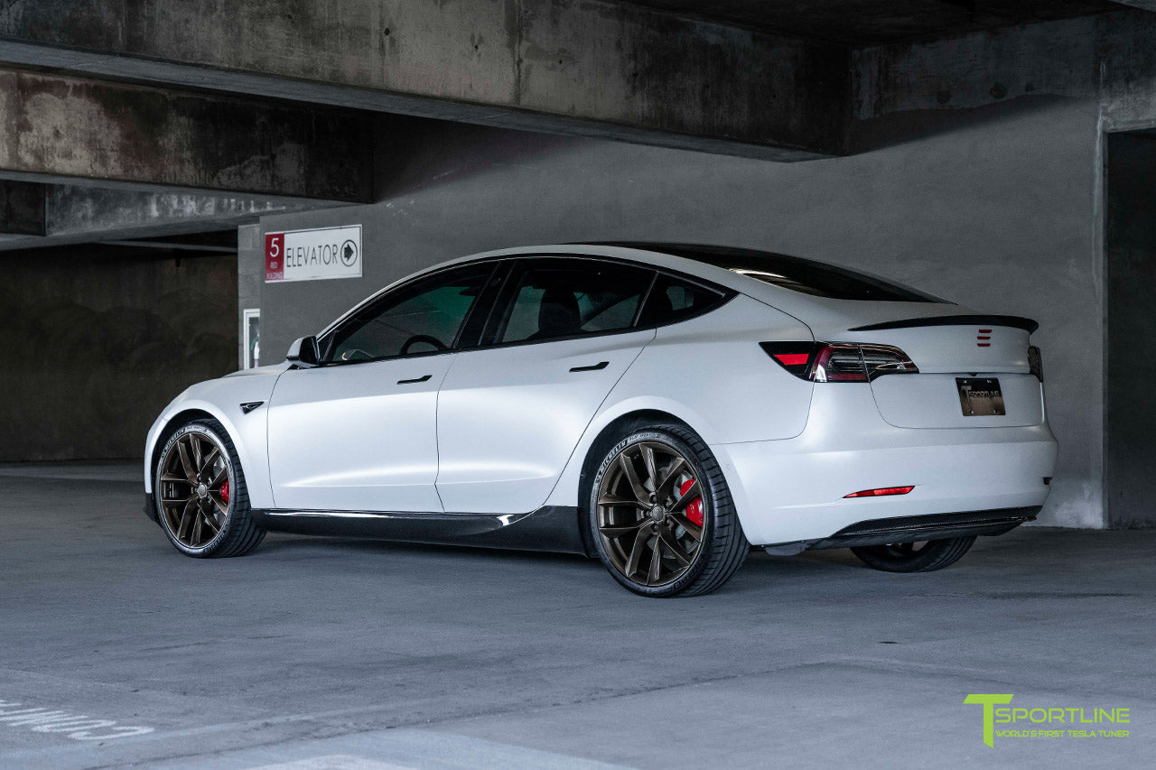 Xpel Stealth Pearl White Performance Model 3 With Sport Package T Sportline Tesla Model S 3 X Y Accessories