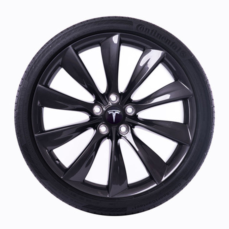 "22"" Tesla Turbine Wheel Onyx Black"