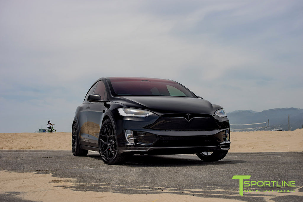 tesla model x chrome delete custom services by t sportline