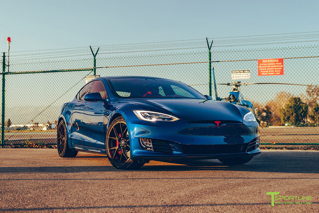 Deep Blue Metallic - Tesla Model S Performance