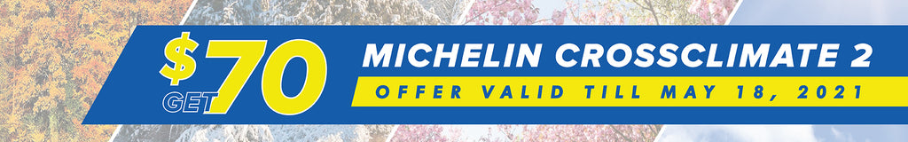 Michelin crossclimate 2 spring tire promotion