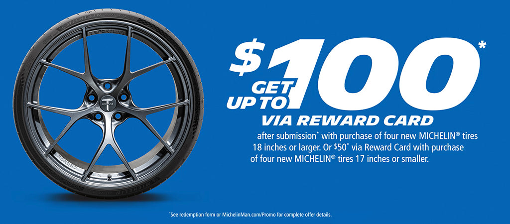 Michelin Tesla Tires Fall Promotion Discount