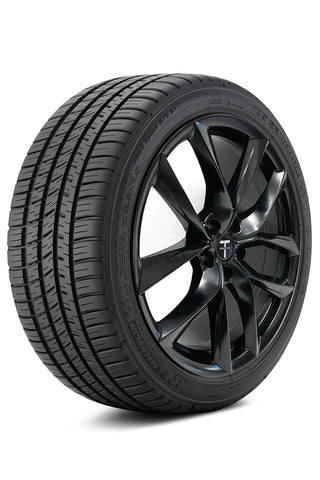 """The ExtremeContact DW (DW for Dry & Wet) is Continental Tire's Max Performance Summer tire developed for the drivers of sports cars, sports coupes and performance sedans. The ExtremeContact DW is designed to deliver good ride quality and serious performance on both dry and wet roads. Like all summer tires, the ExtremeContact DW is not intended to be driven in near-freezing temperatures, through snow or on ice. ExtremeContact DW tires feature an asymmetric design with chamfered tread blocks and a continuous, outboard notched intermediate rib to enhance responsiveness and cornering stability. Continuous center ribs reduce noise and provide constant rubber-to-road contact to control the longitudinal forces experienced when braking. A high void-to-tread ratio with open outboard lateral grooves, wide circumferential tread grooves and notched shoulder blocks on the inboard intermediate rib and shoulder help disperse water to enhance hydroplaning resistance and wet weather traction. The ExtremeContact DW features Tuned Performance Indicators - visible letters molded into the second rib from the outboard shoulder to alert drivers of the tire's performance levels. A visible """"DW"""" indicates the tire has sufficient tread depth for dry and most wet road conditions and after the """"W"""" has worn away, the remaining """"D"""" indicates the tire has appropriate tread depth for dry conditions only. The tire's internal structure includes twin steel belts that are reinforced with spirally wound jointless nylon cap plies to provide long-term integrity under high speed conditions while reducing weight and helping to provide more uniform ride quality."""