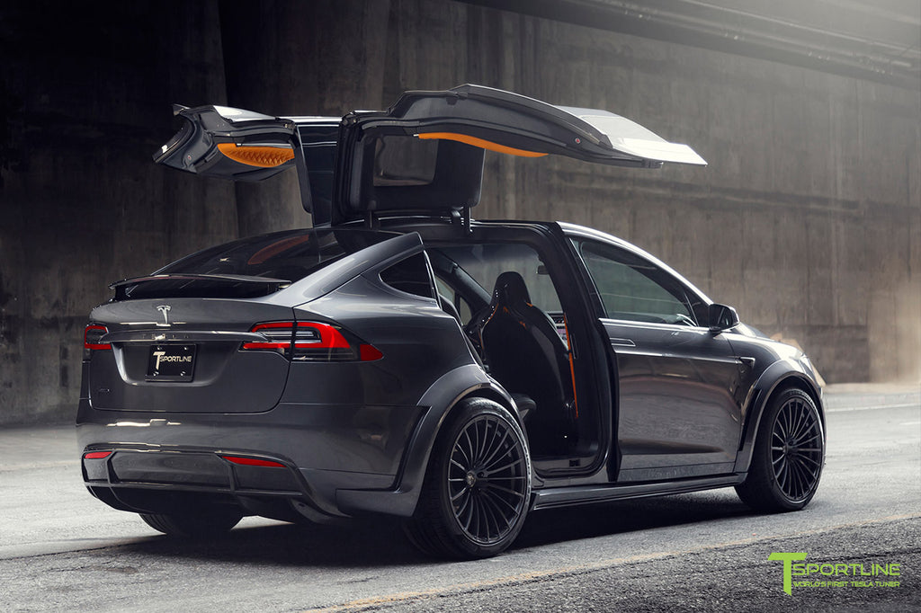 Tesla Model X Limited Edition T Largo Carbon Fiber Package