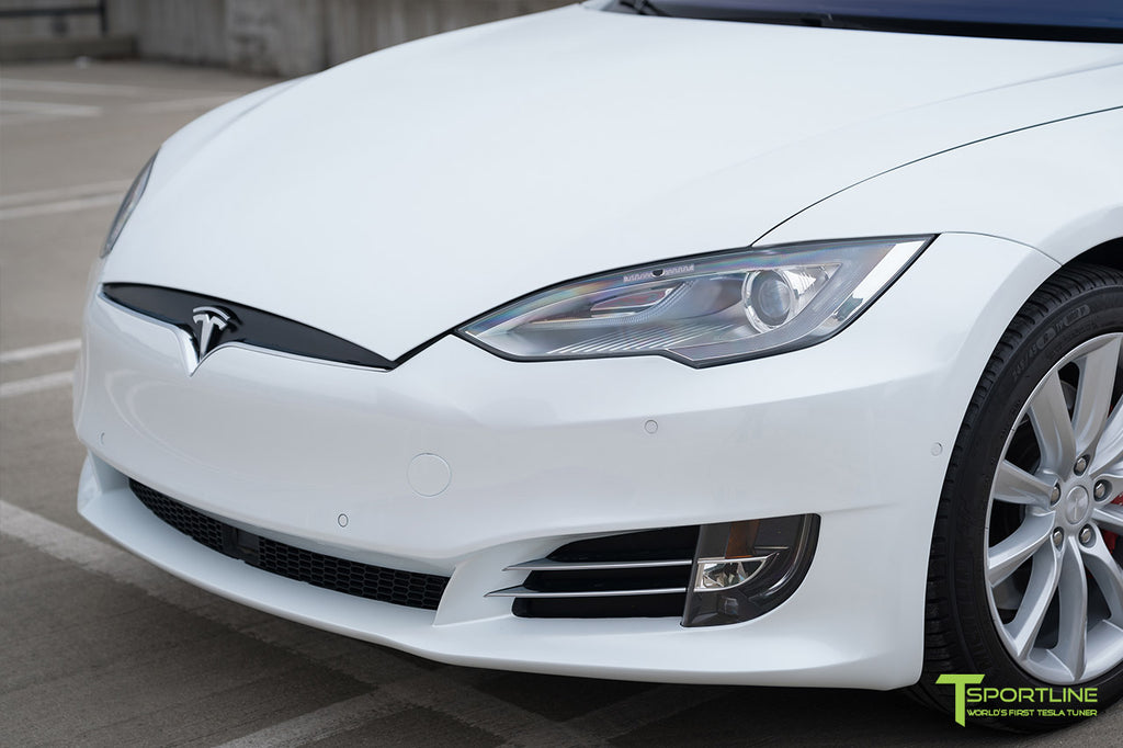 Tesla Model S Front Bumper Refresh Facelift Fascia