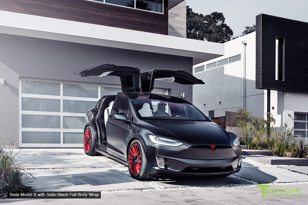 Tesla Model S/X/3 Complete Vehicle Wrap - Custom Services by