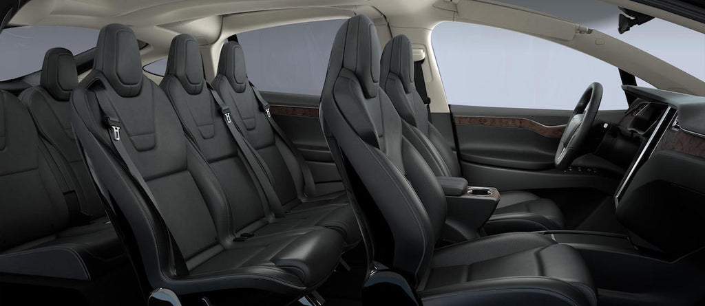 Tesla Model X Interior Seat Configuration