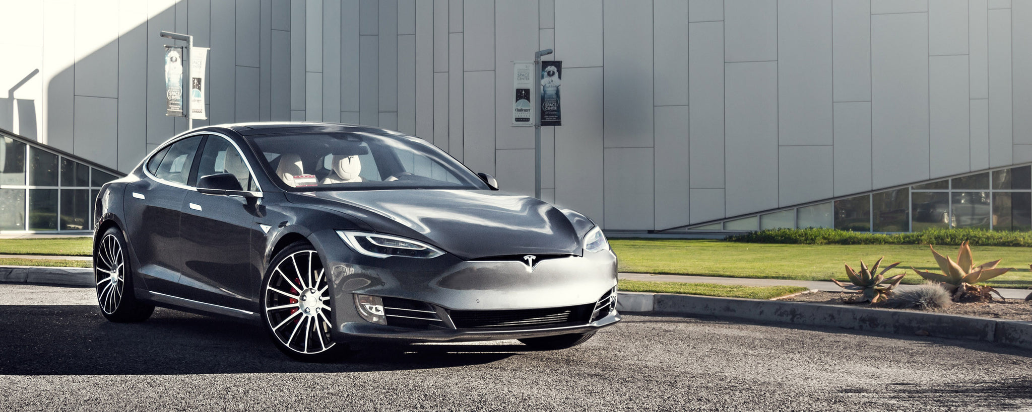 Glamorous Tesla Model S Aftermarket Accessories | Road ...