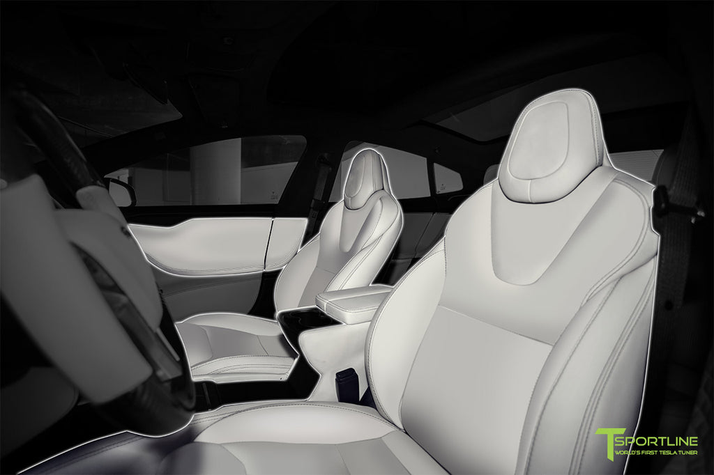 Tesla Model S Custom Interior Program by T Sportline
