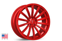 "21"" TS114 Forged Tesla Wheel Velocity Red"