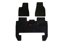 Tesla Model X Floor Mat Set - Right Hand Drive